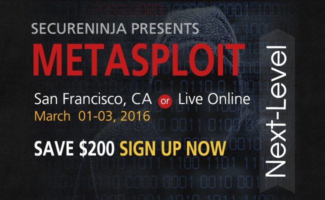 Metasploit Next-Level