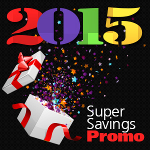 New year 2015 Promo