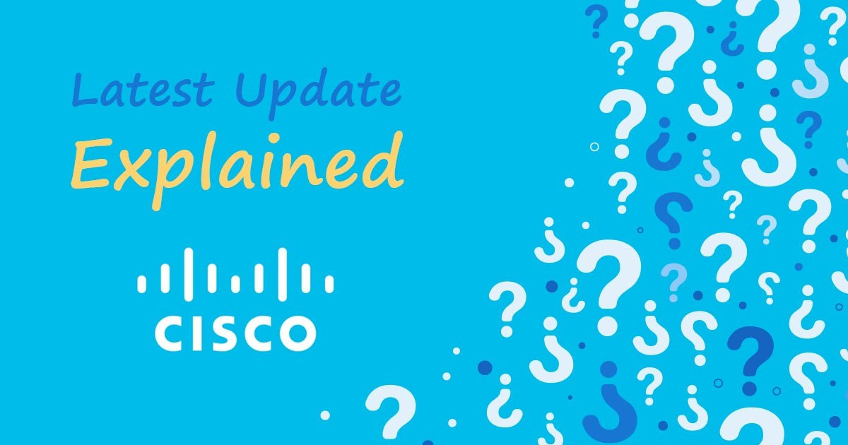 New CISCO Certification Update Explained