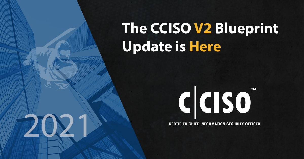 The CCISO V2 Blueprint Update is Here!